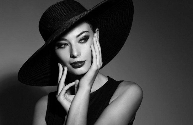 Retro style: 6 important makeup rules for perfect black and white photos