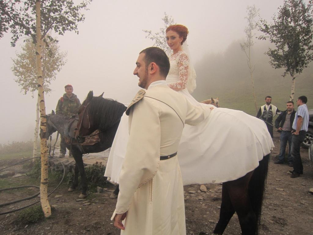 Georgian Wedding: traditions and ceremonies, photos