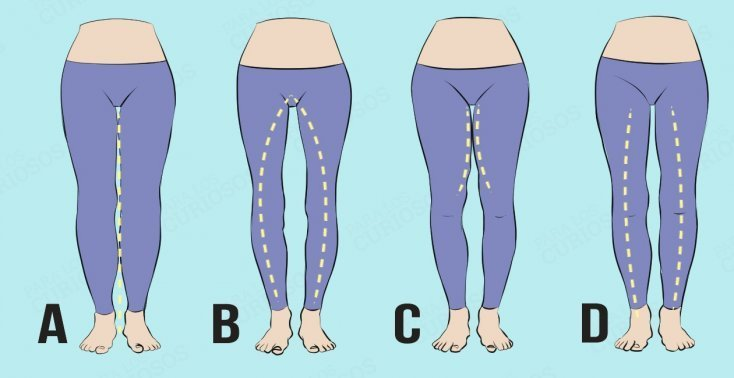 What the shape of the legs can tell about the character of a woman, or how men subconsciously choose a life partner