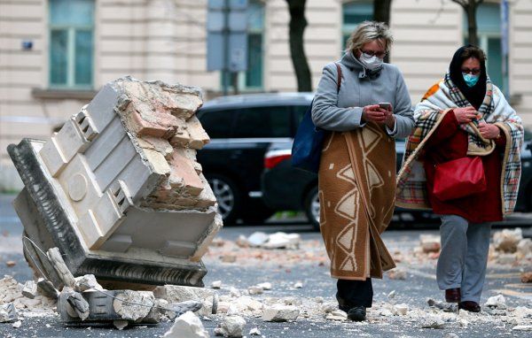 Consequences of the earthquake in Croatia